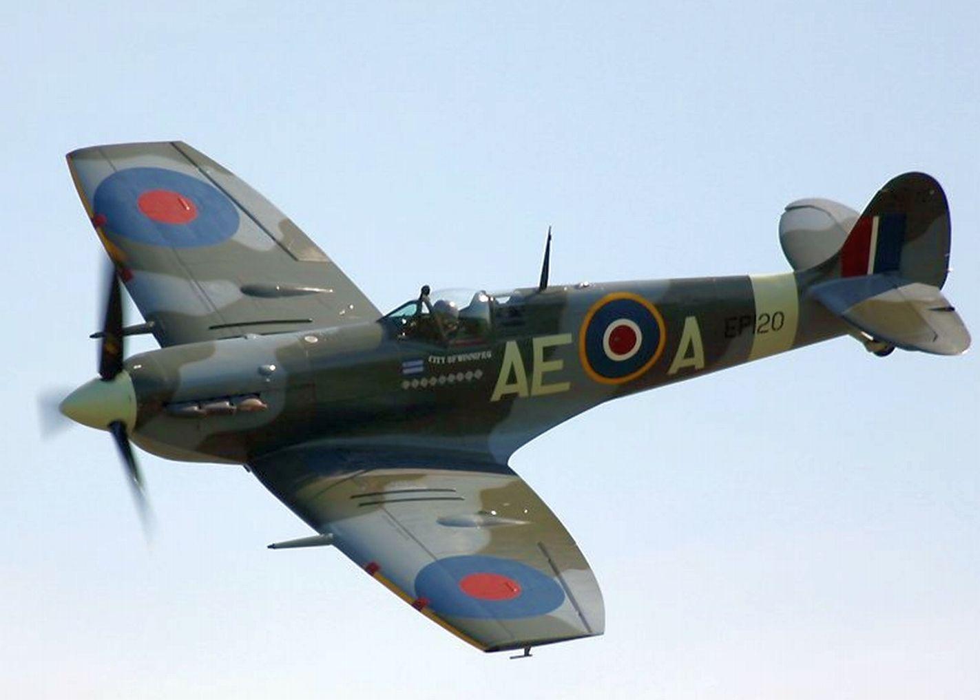 how to make a model spitfire plane