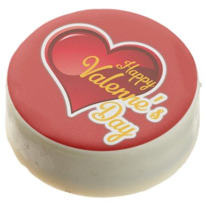 Happy Valentine\'s Day: White Chocolate Dipped Oreo $34.95 by ...