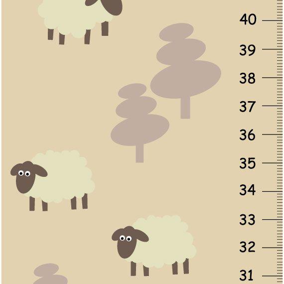 Enfants toise - pépinière naturel doux agneau