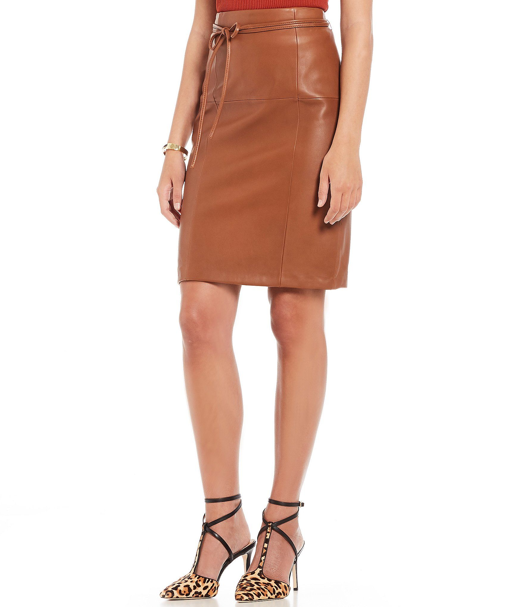 e67fafadb Shop for Antonio Melani Luxury Collection Leather Aria Skirt at  Dillards.com. Visit Dillards.com to find clothing, accessories, shoes,  cosmetics & more.
