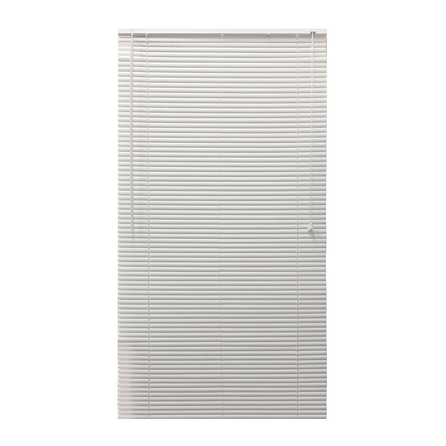 36 inch window blinds - Aleko 36 X 72 In Smooth Horizontal Window Blinds 1 Inch Slats