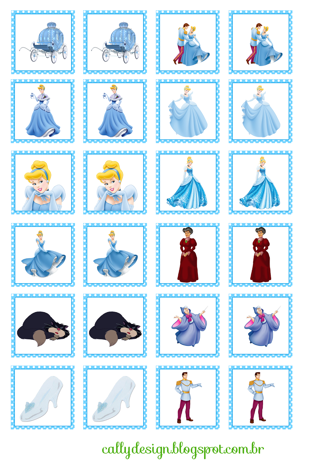 Cally S Design Kits Personalizados Gratuitos Quebra Cabeca E Jogo Da Memoria Personalizados Para Imp Disney Para Imprimir Decoracao Cinderela Jogos De Memoria