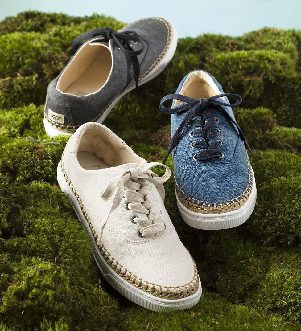 UGG Eyan II Canvas Lace-Up Shoe | Shoes