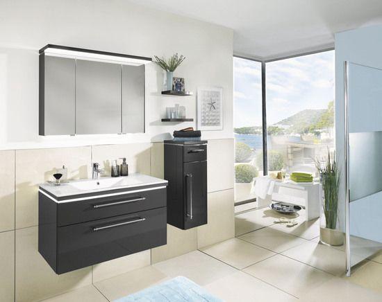 cool line ukw 2013 51 anthrazit badm bel kombi anthrazit hochglanz bestehend aus. Black Bedroom Furniture Sets. Home Design Ideas