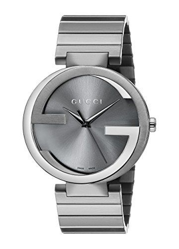 f8a294cf220 Gucci Men s YA133210 Gucci Interlocking Collection Stainless Steel Watch