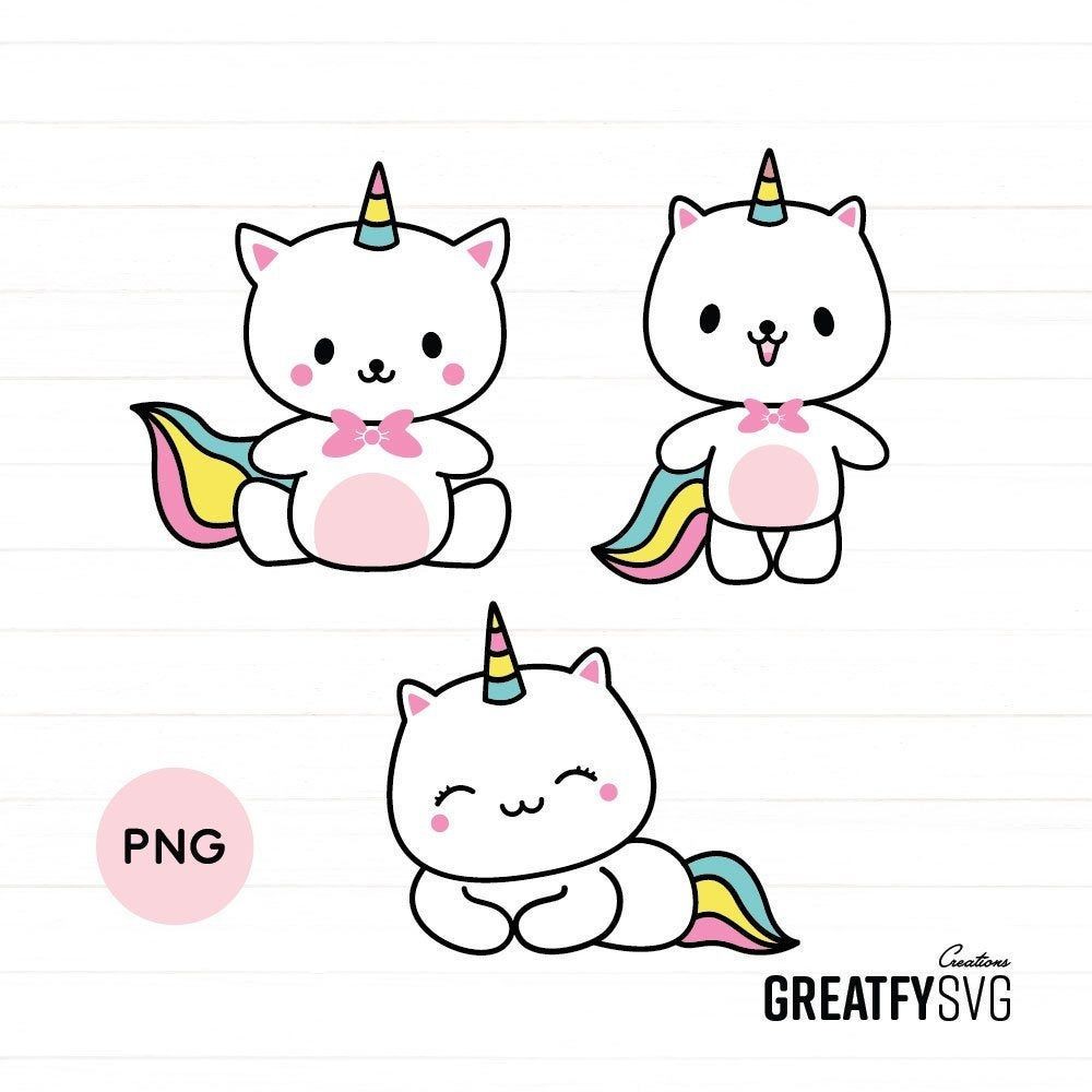 Caticorn Design Caticorn Png Cute Cat Design Cute Baby Cat