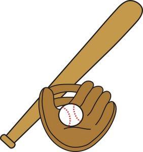 baseball clipart best oliver s 1 birthday pinterest google rh pinterest com Baseball Diamond Clip Art Baseball Bat for Glove and Ball Clip Art