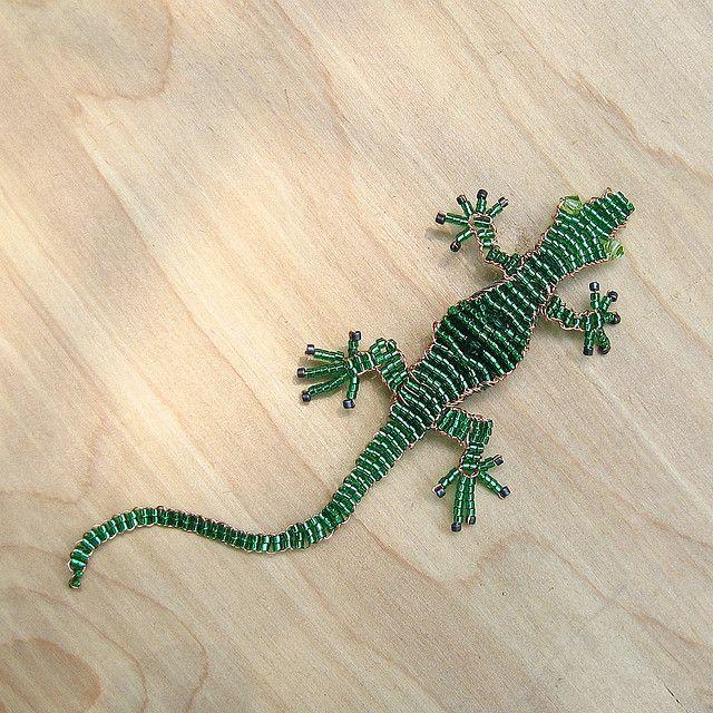 green beaded lizard  90cd9db02ea9