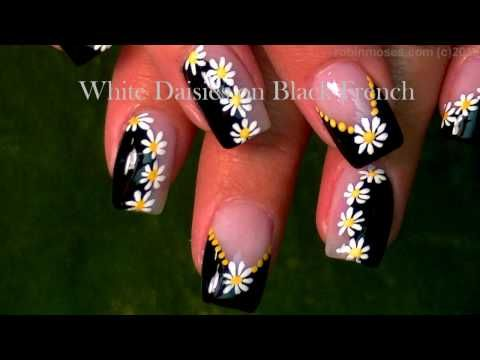 15++ Daisy nail art designs trends