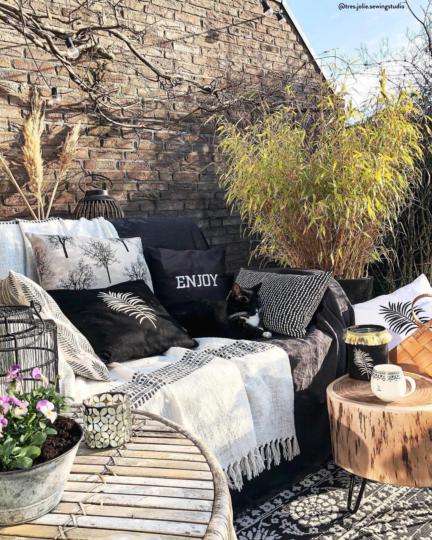 Balkonowe Trendy Na 2020 Outdoor Furniture Outdoor Sectional Sofa Outdoor