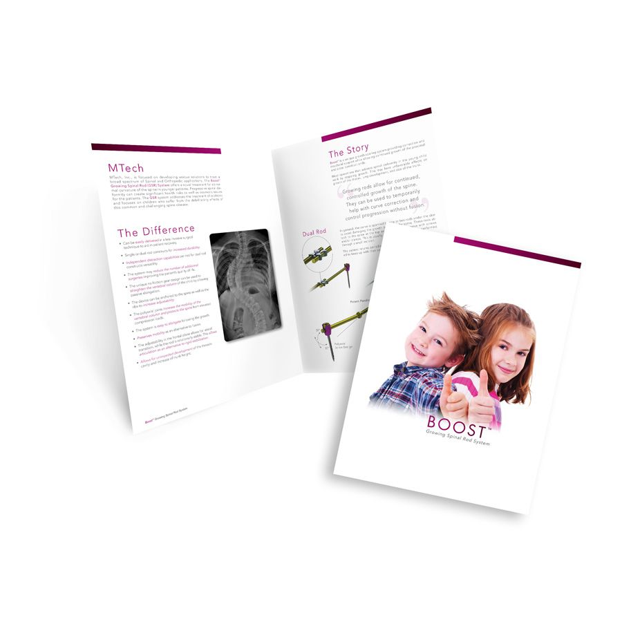 Print brochure for medical company