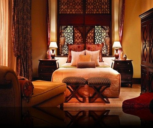 Sleep in style with luxurious Moroccan bedding.