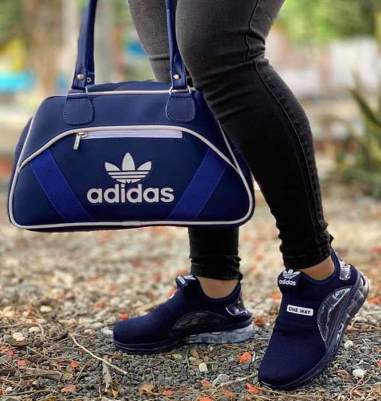 adidas sneaker and bag set | Puma shoes