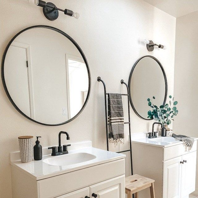 Photo of Black Vanity Light – Industrial Bathroom Lights – 2 Bulb Light Fixture – Modern Wall Light – Antique Bronze Wall Sconce