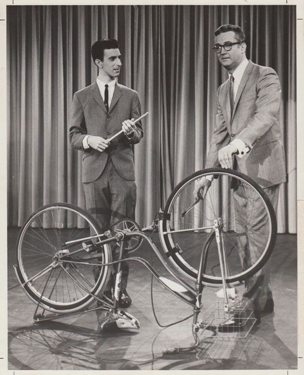 Frank Zappa - 1963 Photo of Zappa Playing Bicycle - Recordmecca