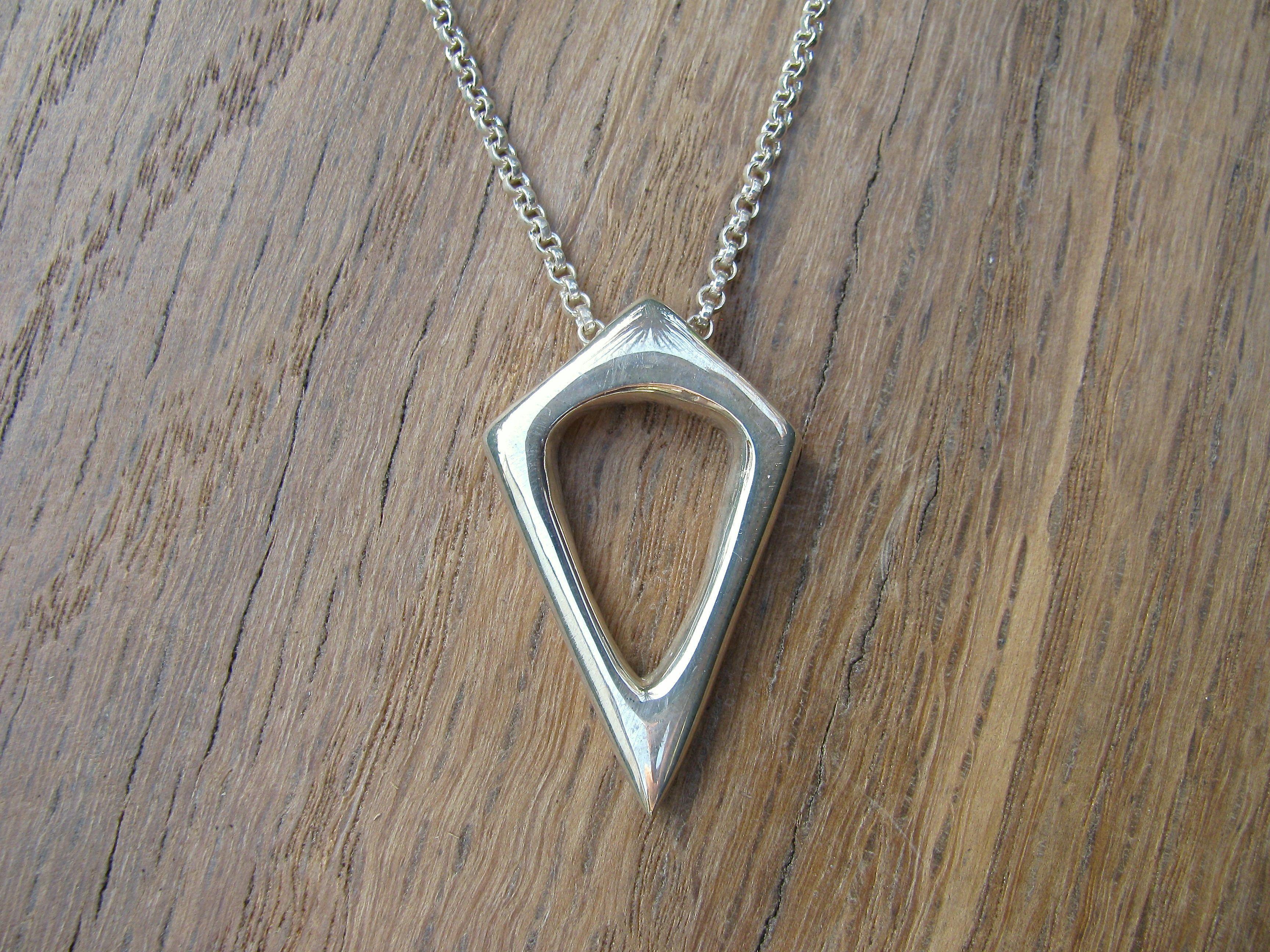 Open Arrowhead Necklace