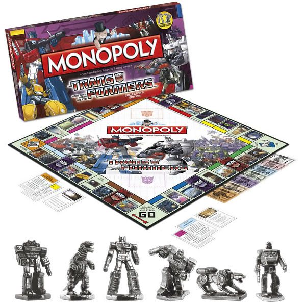 Transformers Monopoly | Monopoly, Gaming and Stuffing