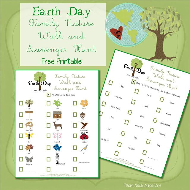 family fun earth day activity print science earth day activities earth day walking. Black Bedroom Furniture Sets. Home Design Ideas