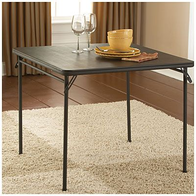 Cosco 34 X 34 Folding Table At Big Lots Craft Table Porch