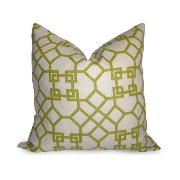 Pelagos Pillow Cover Decorative Pillow Lime Citron Chartreuse Green Enchanting Chartreuse Pillows Decorative
