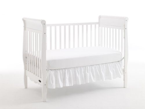 #Dream #On Me Classic 2 in 1 Convertible Stationary Side Crib, #White   very good crib and great price   http://amzn.to/I96NfV