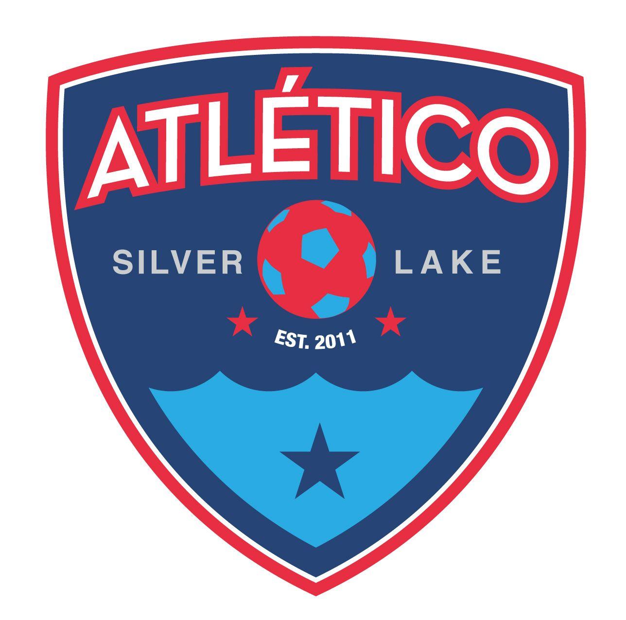 vector logo for my local soccer club, Atlético Silverlake