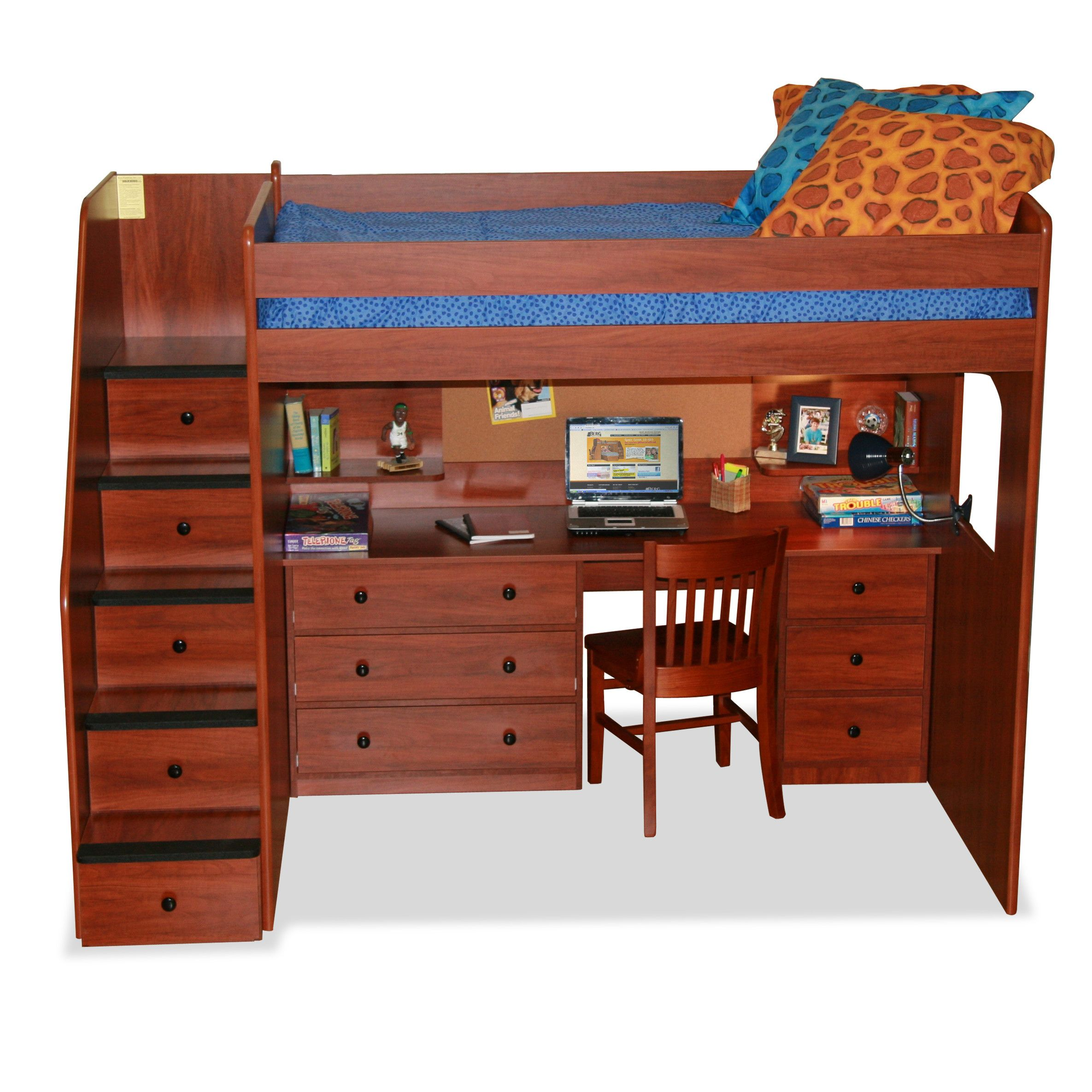 of plans beds frame size drawers full l storage stairs and staircase solid shape bed stairway bunk free with bedding wood