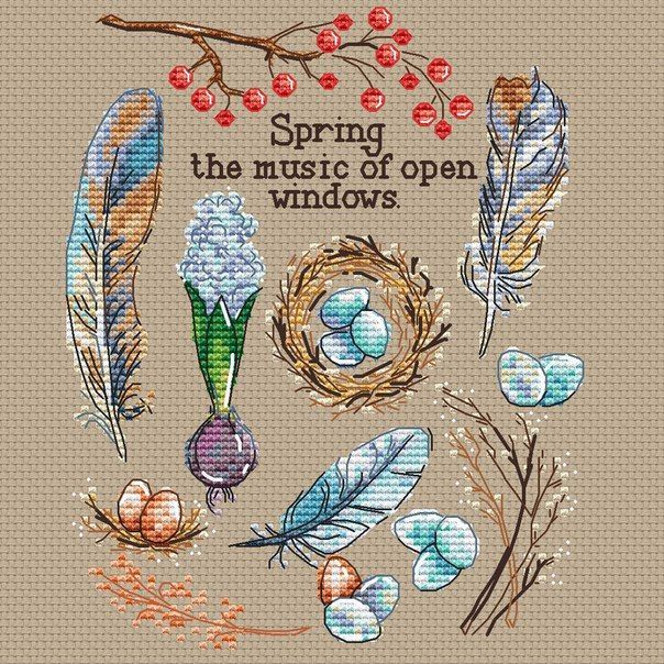 Pin de Linda Shulist en cross stitch/embroidery   Pinterest   Punto ...