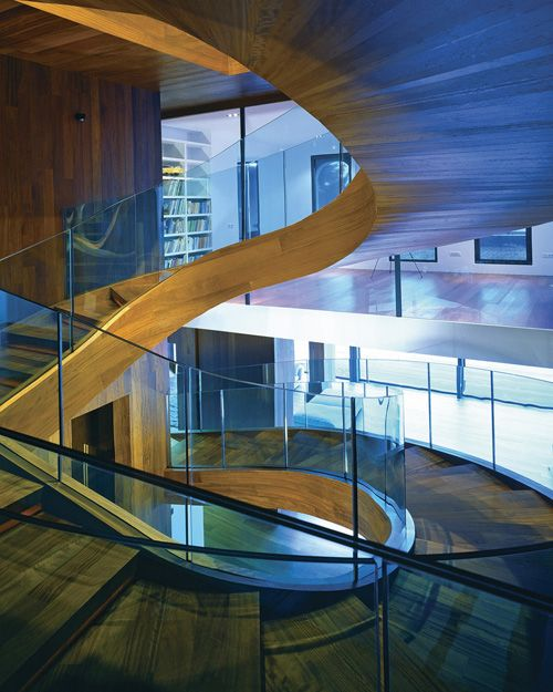 Best Semi Circle Glasses Modern Staircase Design Stairways To 640 x 480