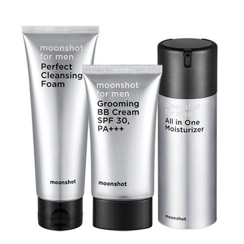 Moonshot G Dragron Men Makeup Set Facial Cleanser Moisturizer Bb
