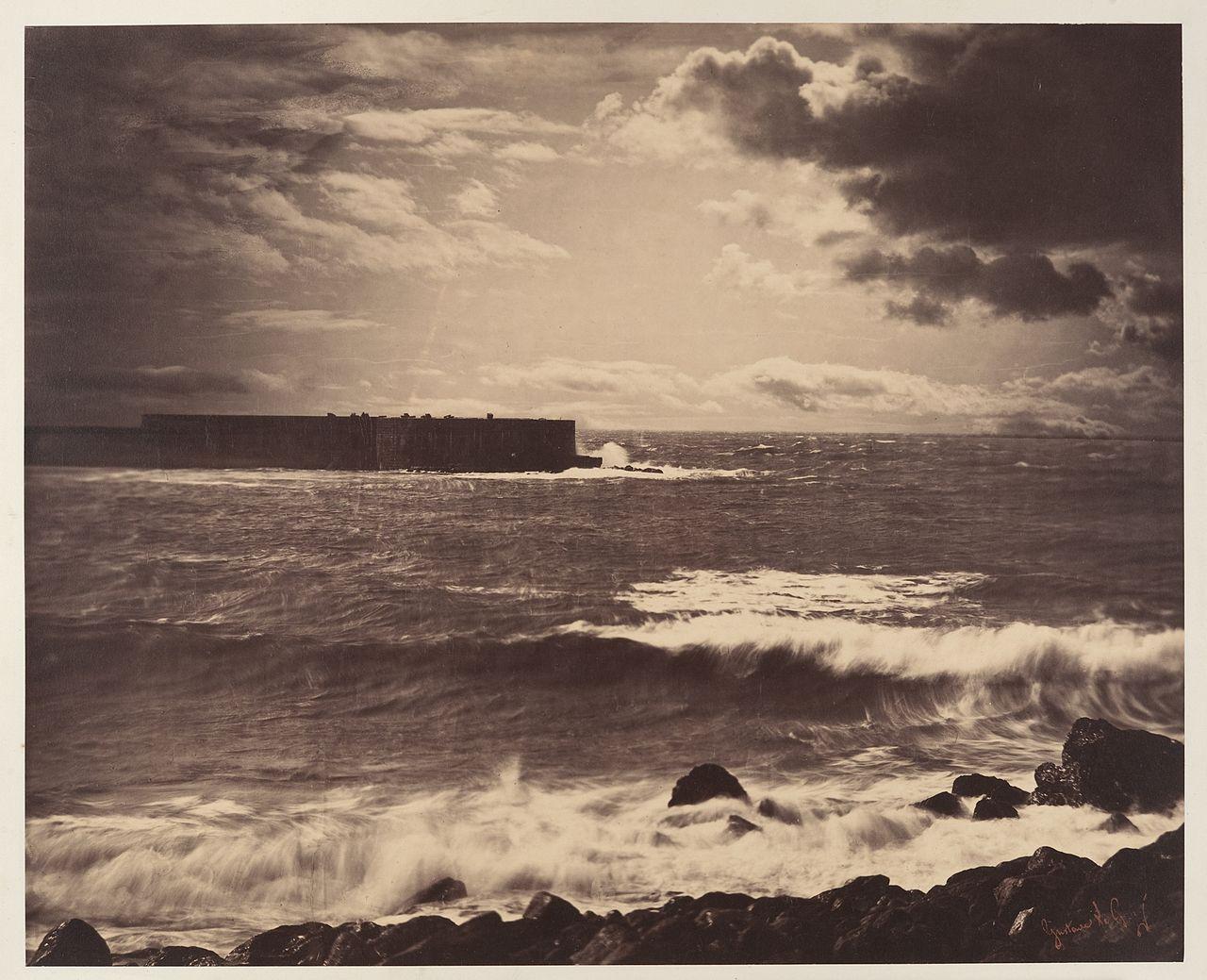 Gustave Le Gray Photographie Photographie Du Ciel Histoire De La Photographie