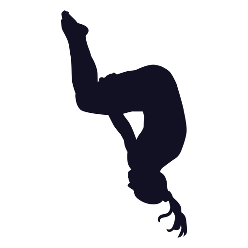 Exercise Gymnast Woman Somersault Silhouette Ad Sponsored Paid Gymnast Silhouette Somersault Exercise Silhouette Gymnastics Gymnastics Wall Art