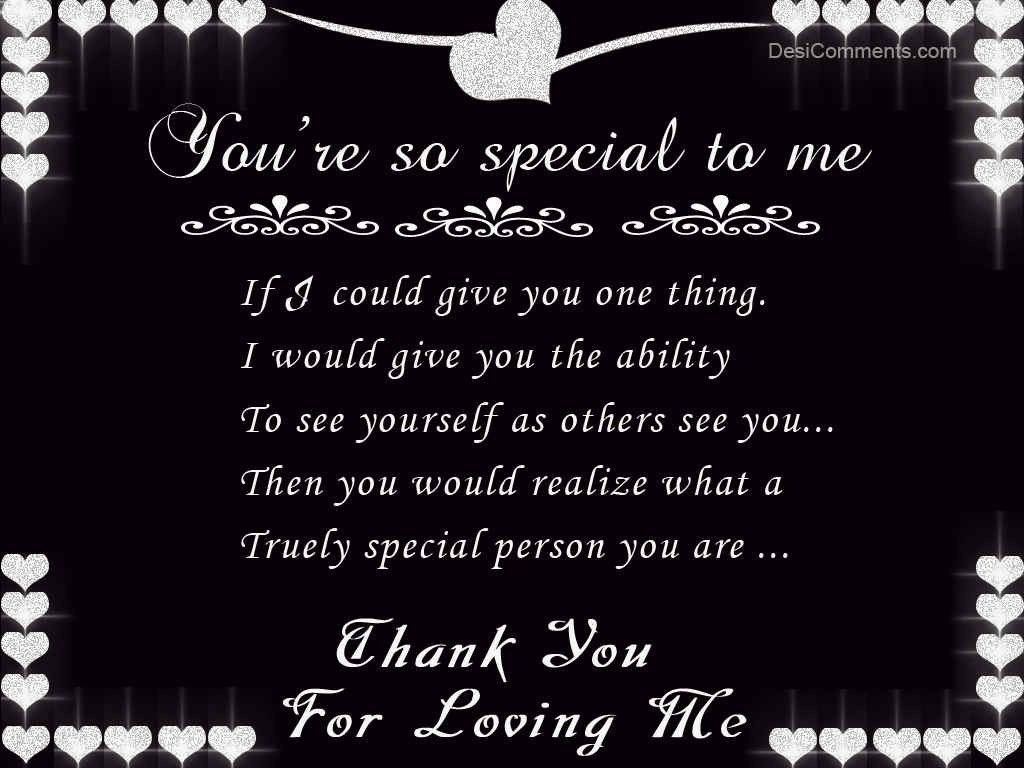 Thank You For Loving Me Love quotes for him, Love me