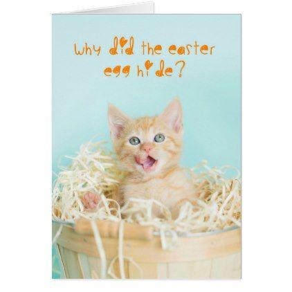 Funny orange kitten easter joke card baby gifts giftidea diy funny orange kitten easter joke card baby gifts giftidea diy unique cute baby gifts pinterest easter jokes negle Choice Image