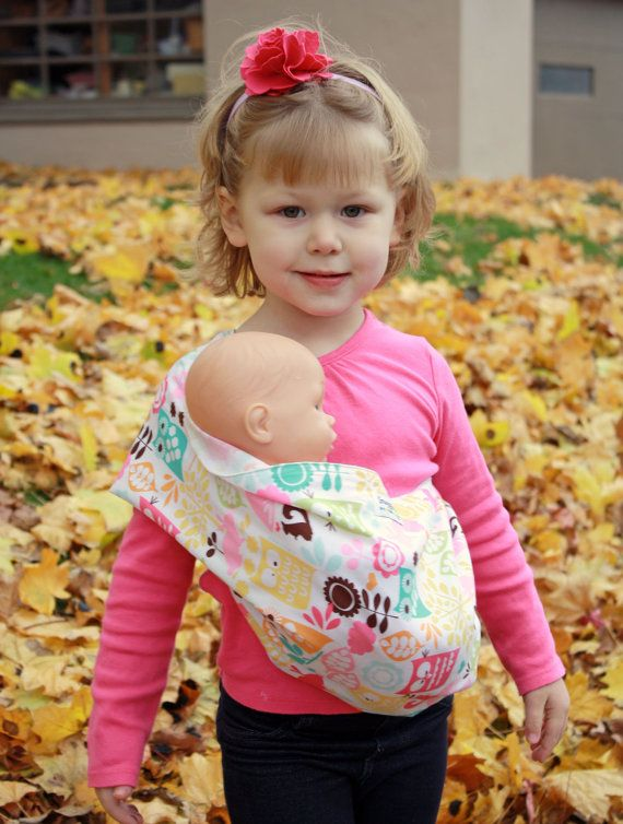 Baby Doll Carrier Sling Toy Children Toddler Gift Wrap Carrier Sling Adjustable For Kids 2-6 Year Mother & Kids