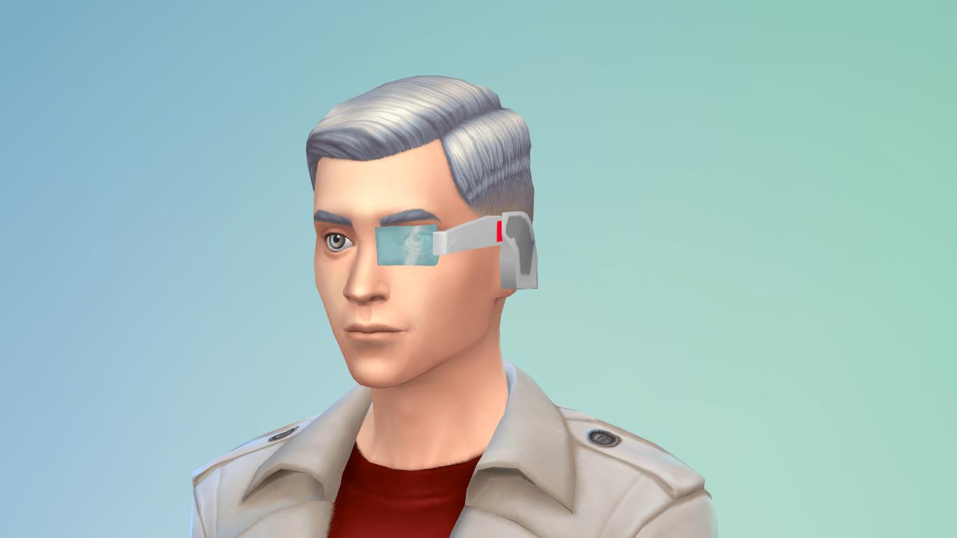 Yandere Simulator Science Club Accessory Sims 4 CC Sims