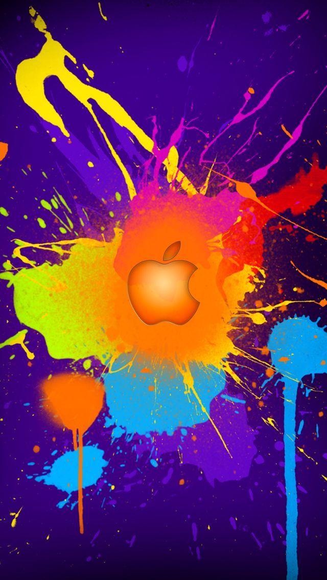 View source image Apple logo wallpaper, Apple logo