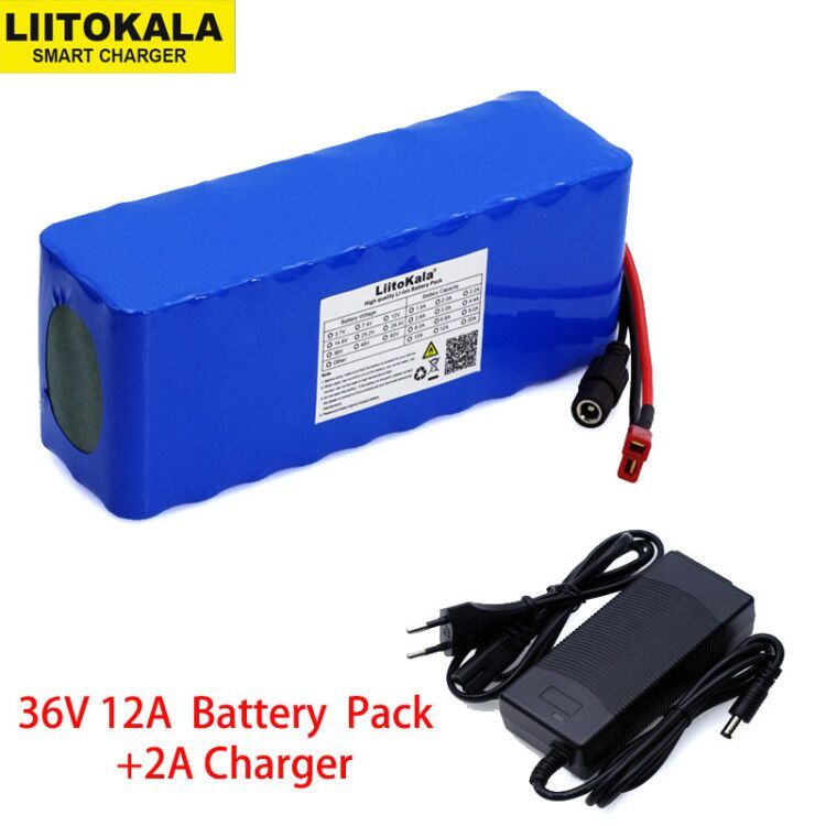 BMS 48V 12A Lithium Battery DIY Pack for Electric Mobility Scooter Bicycle Ebike