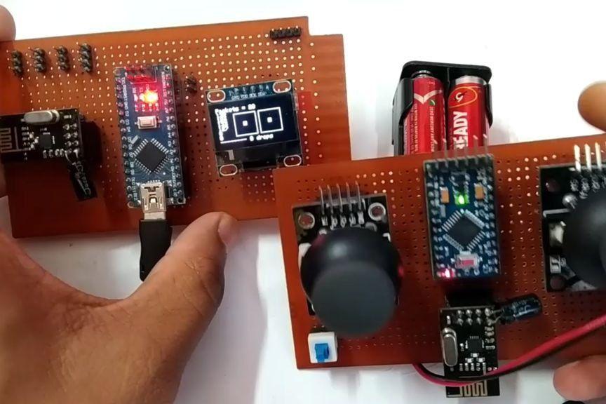Wireless Remote Using 2 4Ghz NRF24L01 Module With Arduino in 2019