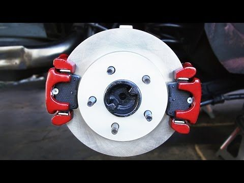 Learn How To Install Dual Brake Caliper Brackets And Dual Brake Calipers As Well As Replace The Differential Fluid Replace The Rear Wheel Be