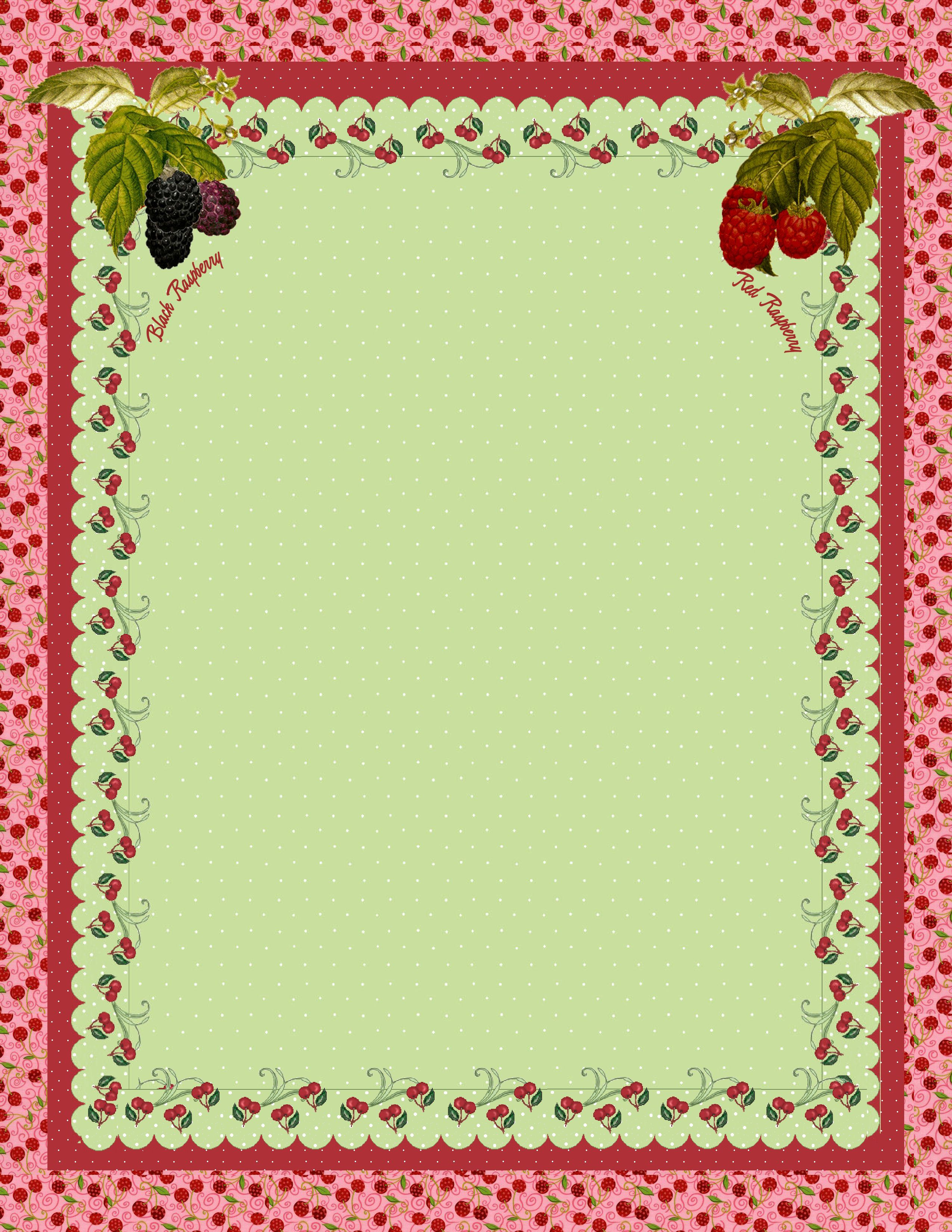 Free blank recipe quick page printable recipe cards
