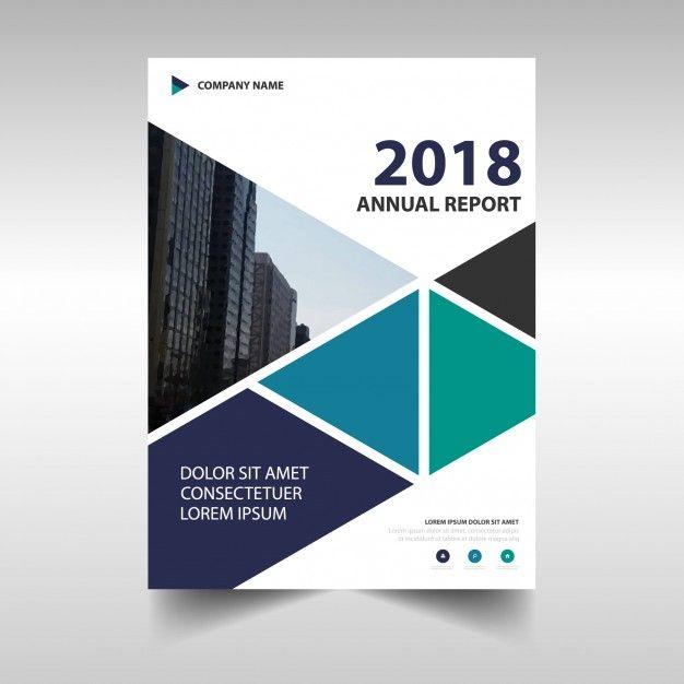 Modern Corporate Annual Report Design Free Vector   Design