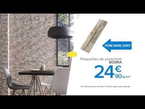 Plaquette De Parement Bosra Colours Castorama Youtube Flux Social Bon Shopping Com Castorama Plaquette