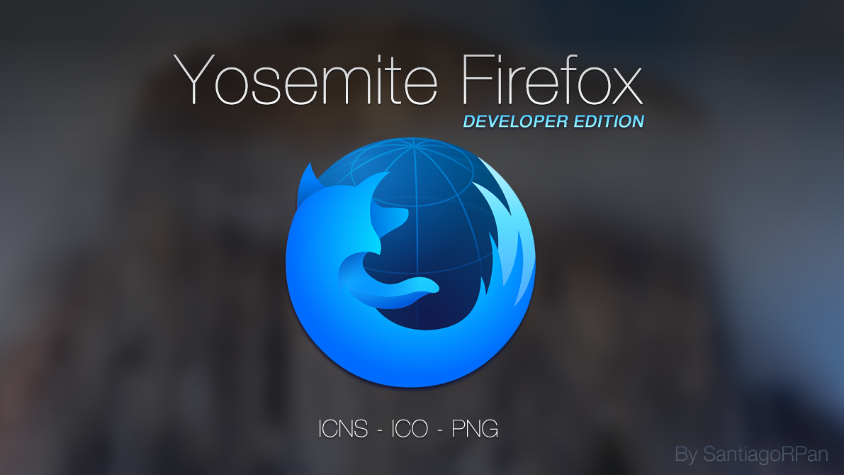 Yosemite Firefox Developer Edition by SantiagoRPan | Pixel