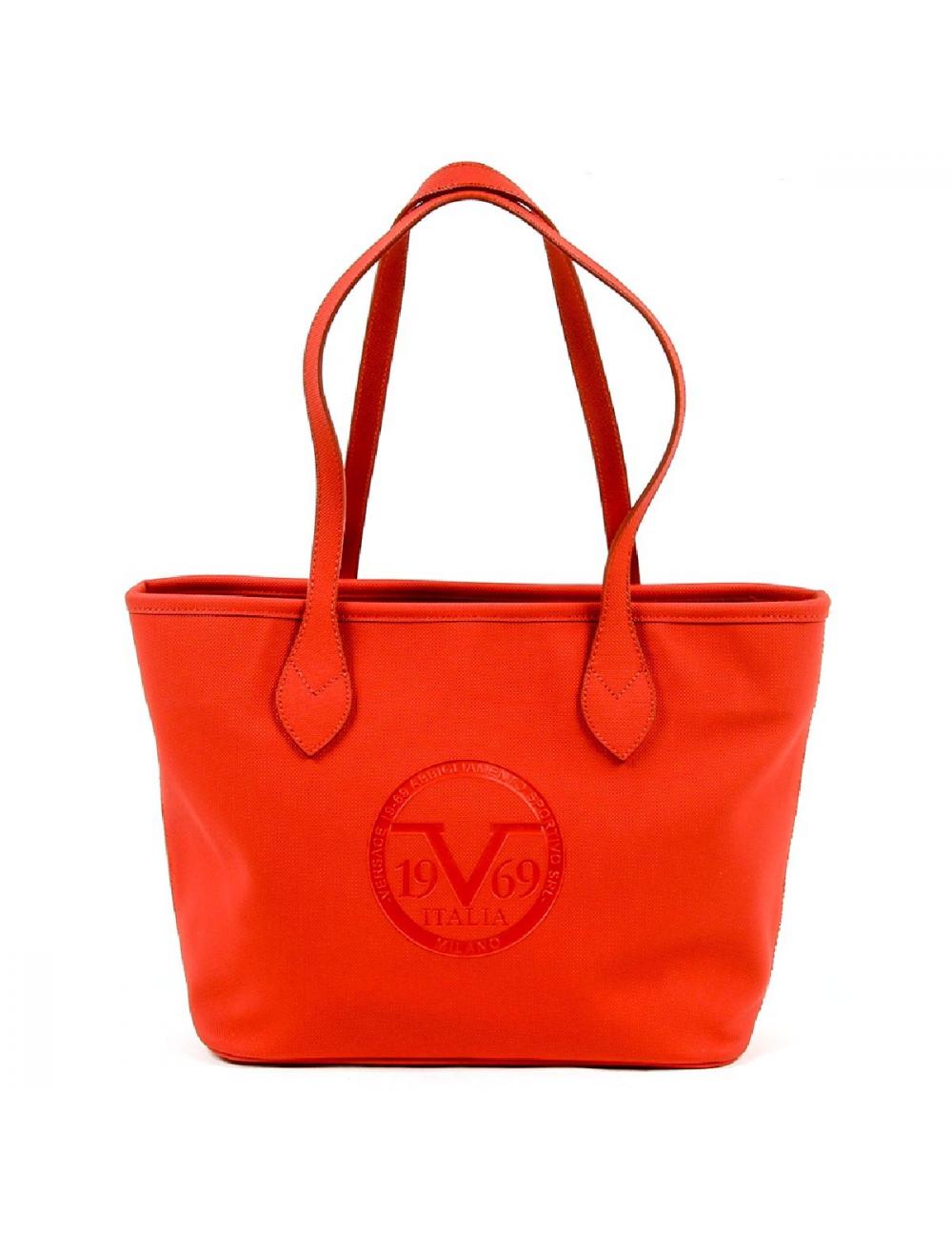 769f3bf8ec6a V 1969 Italia Womens Handbag V1969001 RED