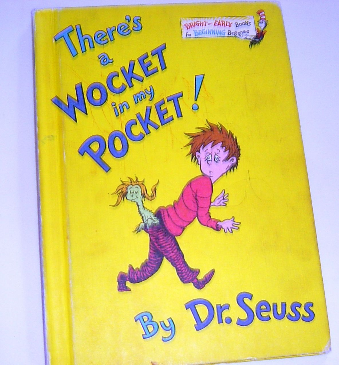 Image result for vintage dr. seuss book there's a wocket in my pocket