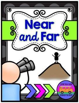 Near And Far Mini Booklet Math Activities Preschool Kindergarten Science Near far worksheets kindergarten