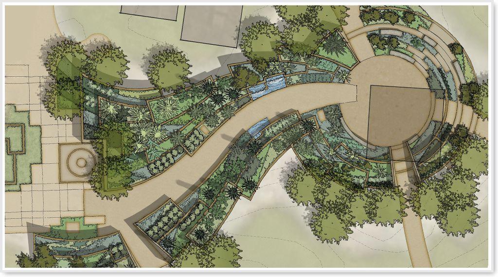 Desert Botanical Garden Portal And Vestibule Landscape
