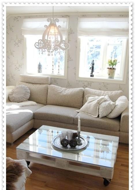 Wohnzimmertisch aus Paletten Stylizimo - Design Voice Wohnzimmer - wohnzimmertisch design