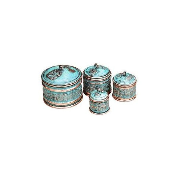 Stackable Boxes Home Decor Captivating Novica Copper Stackable Boxes Set Of 4 987245 Idr ❤ Liked On 2018